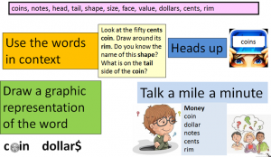 vocabulary in maths